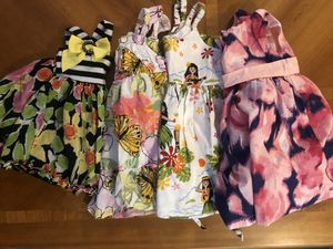 12 month girl dresses and tunic top for Sale in South Windsor, CT