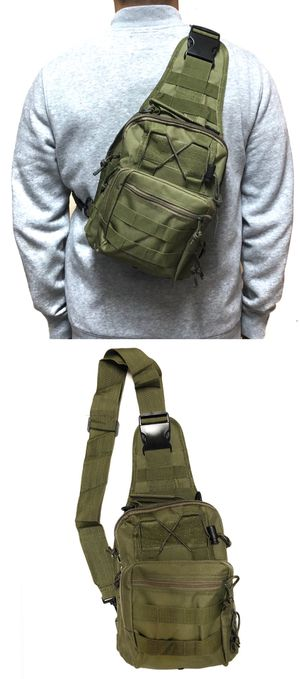 NEW! Tactical military style Side Bag Cross body bag backpack sling pouch chest bag camping hiking day pack shoulder travel bag molle for Sale in Carson, CA