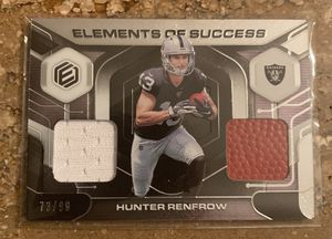Oakland Raiders 4 Card Lot!! Rice/Renfrow/Carr/Woodson for Sale in Laveen Village, AZ