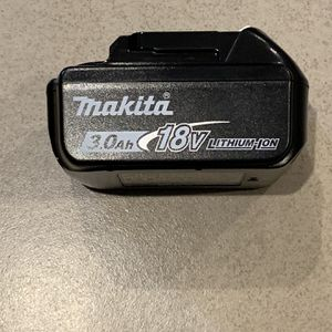 New 18v Makita 3.0ah Battery for Sale in Beverly Hills, CA