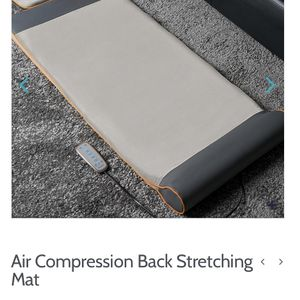 HoMedics Air Compression Back Stretching Mat - Like New Condition for Sale in Columbia, MD