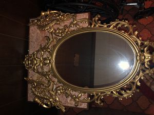 Antique Mirror & Candle set for Sale in Portsmouth, VA