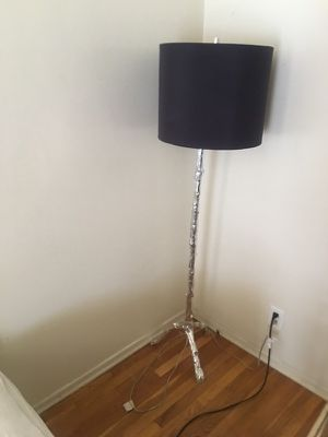Standing Floor Lamp for sale with slightly cracked shade! I have two for Sale in Beverly Hills, CA