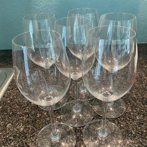 Riedel Vinum White Wine Glasses- Six for Sale in Bellevue, WA