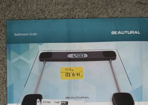 Glass digital bathroom scale for Sale in Los Angeles, CA