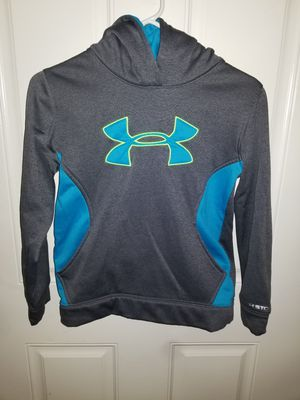 Under Armour Youth Size Medium PULLOVER Hoodie Excellent Condition for Sale in Taylor, MI