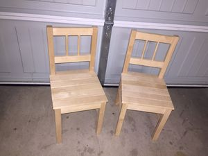 Sturdy Wooden Kids Chairs for Sale in Carrollton, TX