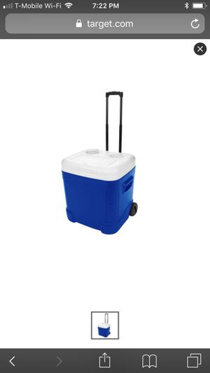 Used once Igloo Ice Cube Cooler 60qts for Sale in Brooklyn, NY