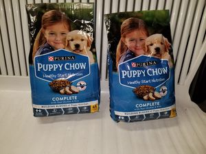 2 new bags puppy chow for Sale in Fall River, MA