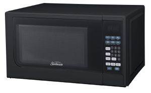 Sunbeam 0.7 cu ft 700 Watt Microwave Oven - Black - was $59, now $27 for Sale in Los Angeles, CA