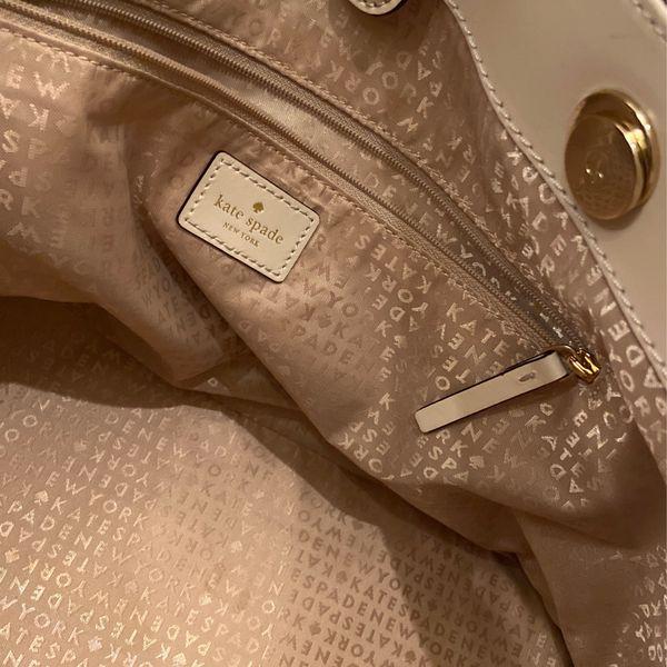 Kate Spade Ostrich Leather Tote Purse