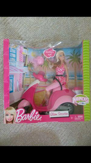 Toys r us kids picks Barbie glam scooter for Sale in Nashville, TN