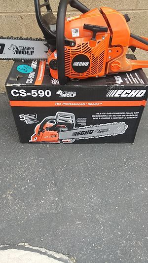 Echo timber wolf chainsaw for Sale in North Las Vegas, NV
