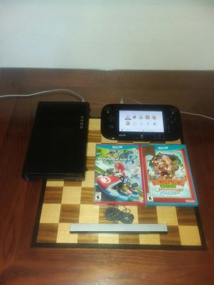 WII U CONSOLE + PLUS GAMEPAD + GAMES + ACCESSORIES for Sale in Tacoma, WA