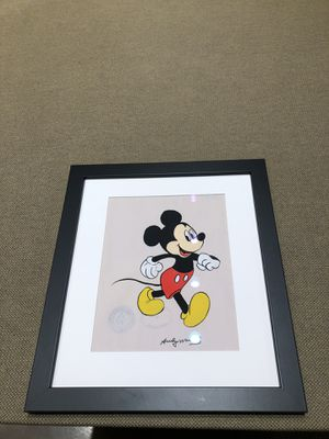 Mickey Mouse Andy Warhol for Sale in Dallas, TX