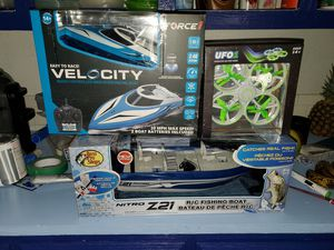 Rc boats and drone for Sale in Bella Vista, AR