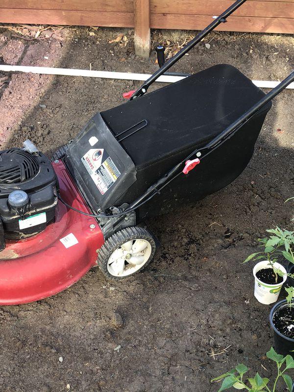 Free Briggs Stratton mower (will not quite start)
