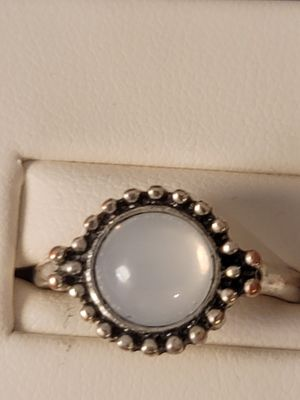 Silver ring with white moonstone for Sale in Mission Viejo, CA
