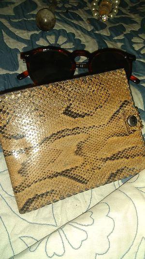 Shadle weather males wallet snakeskin for Sale in Denver, CO