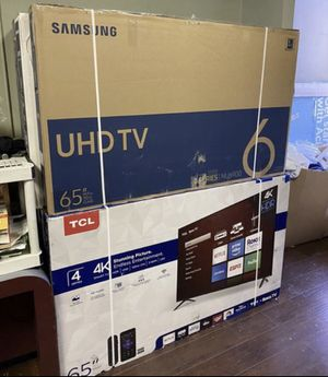 "65"" TCL roku smart 4K led uhd hdr tv for Sale in Norwalk, CA"