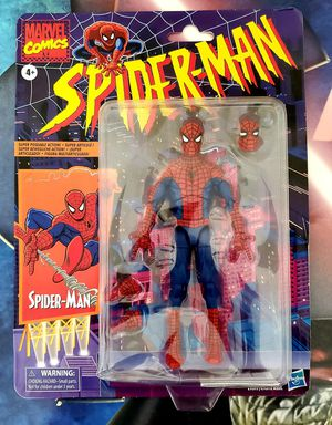 Spider-Man Hasbro Marvel Legends Series 6-inch Collectible Action Figure Toy Retro Collection! for Sale in Elk Grove, CA