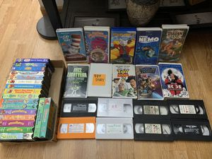 36 VHS tapes for Sale in Riverside, CA