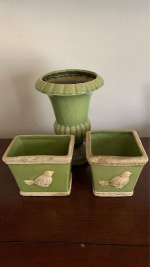 Green vases for Sale in Smithville, MS