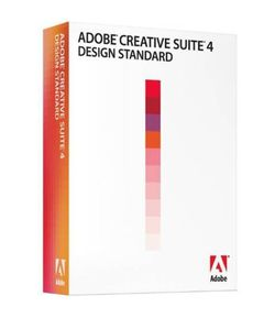 Adobe CS4 Creative Suite Design Standard CS 4 software for Mac OS for Sale in San Mateo,  CA