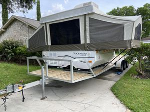Popup camper/toy hauler for Sale in Houston, TX