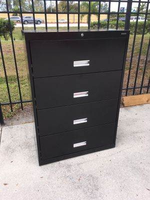 Black Lateral File Cabinet DELIVERY AVAILABLE 🚗 for Sale in Bonita Springs, FL