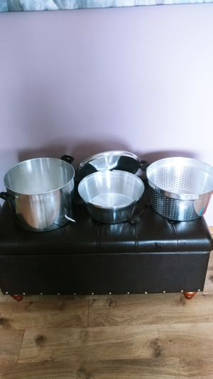 Cooking Pot Pan With Lid for Juice, Syrup for Sale in Everett, WA