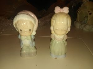 Precious moments salt and pepper shakers for Sale in Lawrenceville, GA