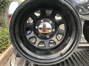 2 set of rims from Toyota pick up tires 33x12.50 R15 for Sale in San Mateo, CA