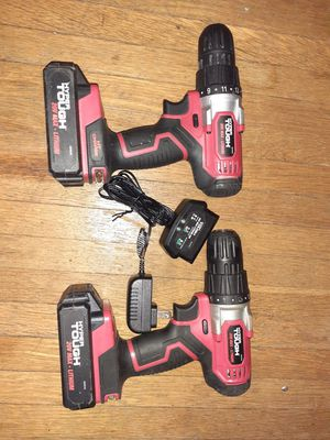 2 20v Hyper Tough drill for Sale in Saint Paul, MN
