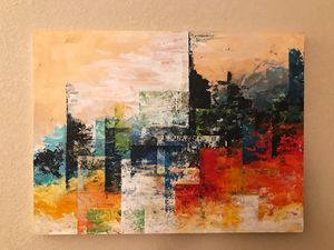 City Light - Abstract art for Sale in Bellevue, WA