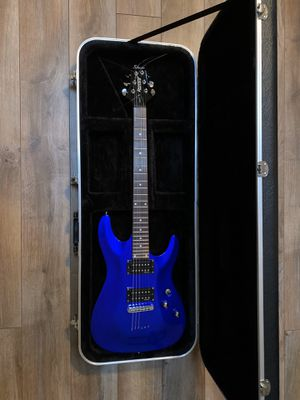 Schecter Omen-6 Solid Body Electric Guitar w/Gator Case for Sale in Washington, DC