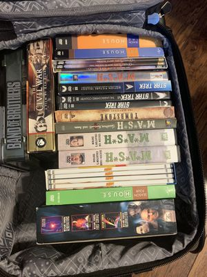 DVD's (Mash,Star Trek,Seinfeld ,House,Band of Brothers) for Sale in San Antonio, TX