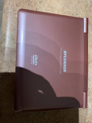 Portable DVD player pink for Sale in Phoenix, AZ