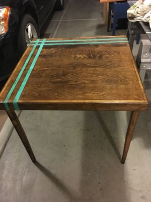 Wood Folding Card Table for Sale in Apache Junction, AZ