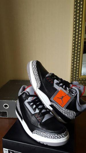 Jordan 3 retro Black Cement 3s size 11.5 Brand New for Sale in Tampa, FL