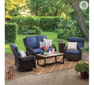 BRAND NEW IN BOX OUTDOOR FURNITURE SET for Sale in Cinnaminson, NJ
