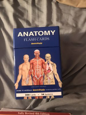 Anatomy Flash Cards for Sale in Lewisville, TX