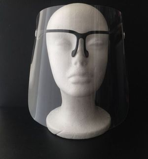 Optic style face shield - black for Sale in Chino, CA