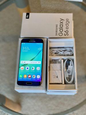 Samsung Galaxy S6 Edge Unlock 32GB Black Sapphire for Sale in Northbrook, IL
