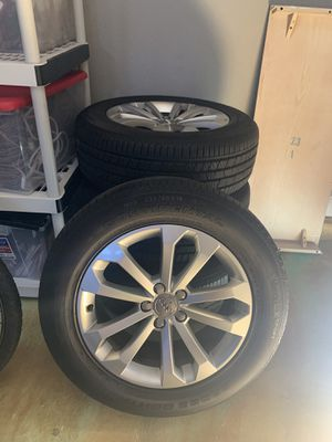 235/60R 18 stock rims and tires for Audi Q5 for Sale in Tracy, CA