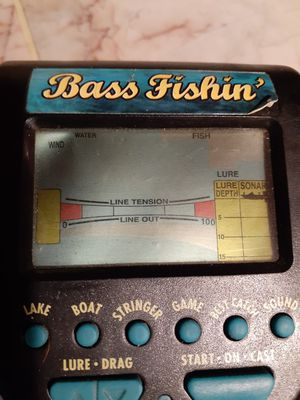 Bass Fishing Handheld Electronic Game for Sale in Blaine, MN
