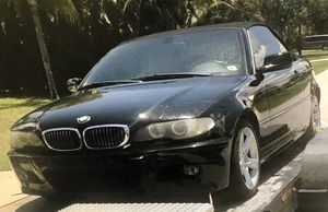 2004 BMW 3 Series 325Ci Convertible for Sale in Fort Lauderdale, FL