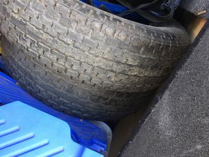 2 LT truck tires or trailer tires. Super cheap for Sale in San Jose, CA