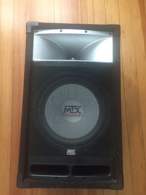 MTX AUDIO TP112 professional loud speaker for Sale in Cranston, RI