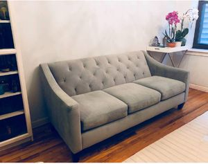 Macy's Tufted Couch -I can transport for a small fee for Sale in Greenbelt, MD